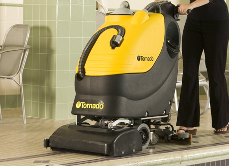 Complete Line Of Floor Scrubbers By Tornado Industries